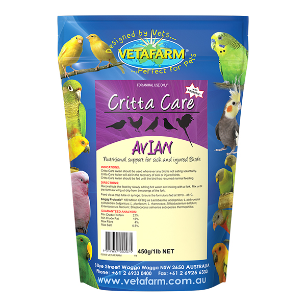 Product_Critta-Care-Avian-450g